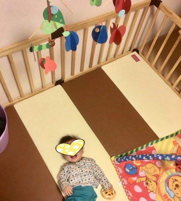 はらぺこあおむし モビール 作り方 赤ちゃん 手作りおもちゃ 知育 簡単
