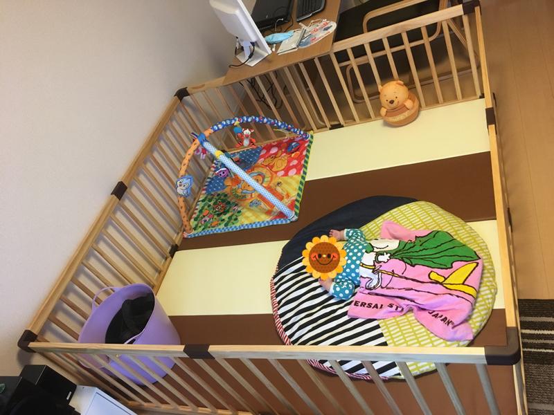 ベビーサークル 赤ちゃん リビング 部屋 レイアウト