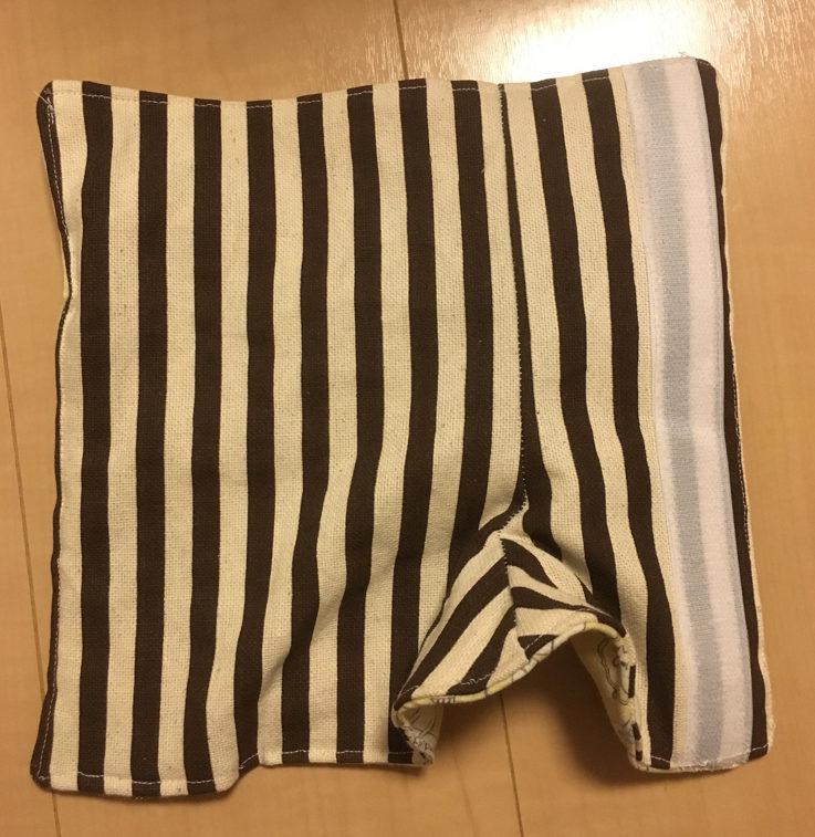 抱っこひも 角 肩紐 ショルダーベルト カバー 作り方 手作り 型紙