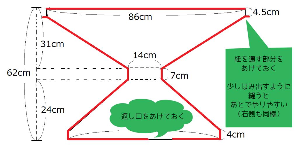 チェアベルト 簡単 作り方 型紙