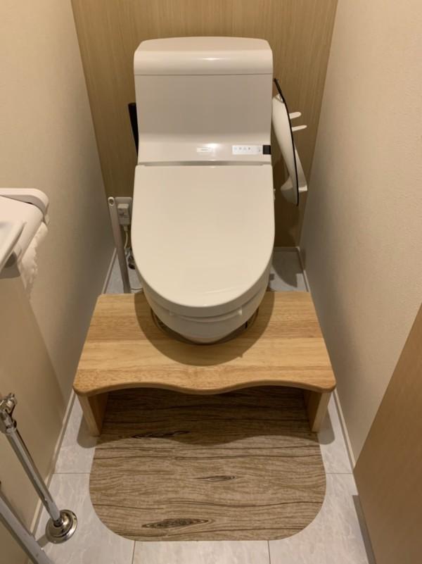 トイレ 補助便座 踏み台 木製 トイトレ