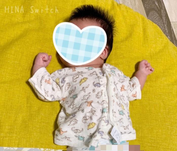 コンビミニ Combimini ワンタッチ肌着 新生児