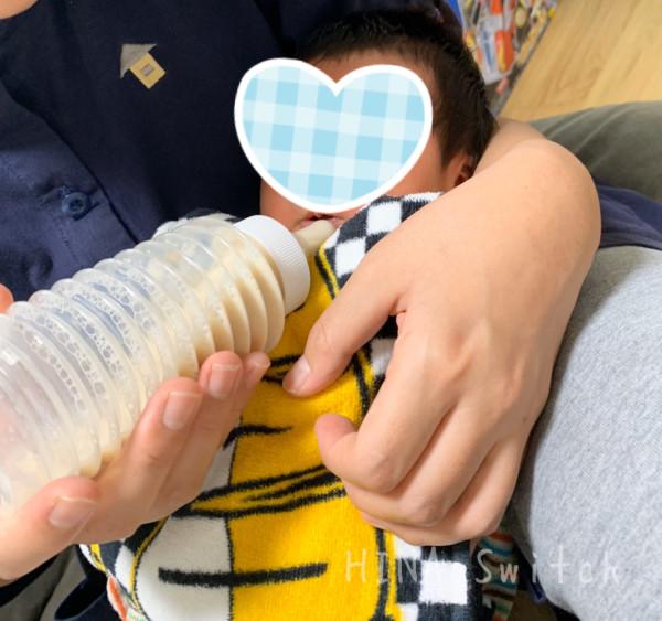 chu-bo 使い捨て哺乳瓶 液体ミルク ほほえみ