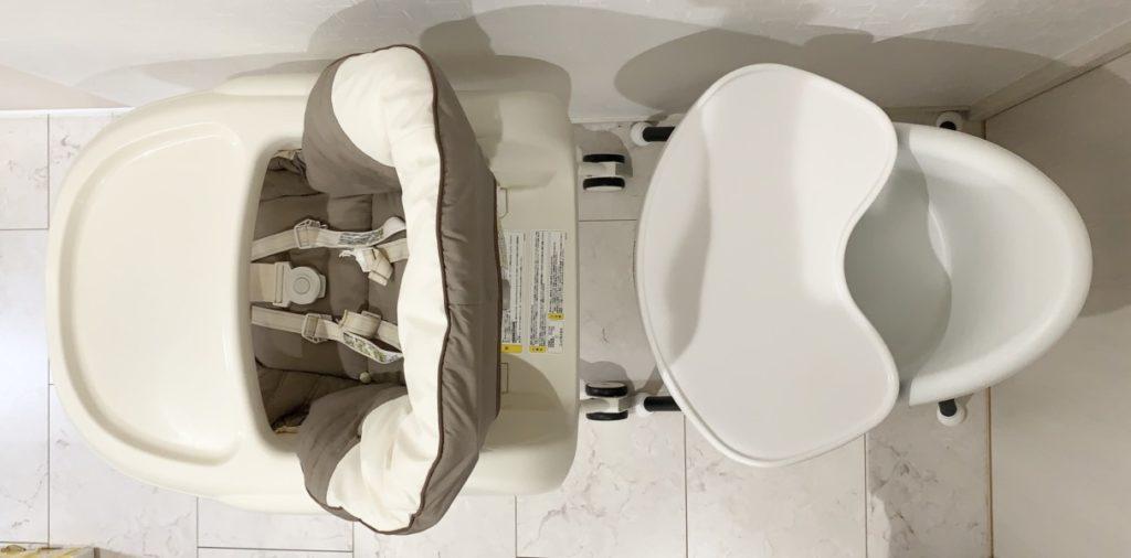 離乳食 ハイローチェア コンビ ネムリラ オートスウィング エッグショック ベビービョルン ハイチェア 比較 大きさ