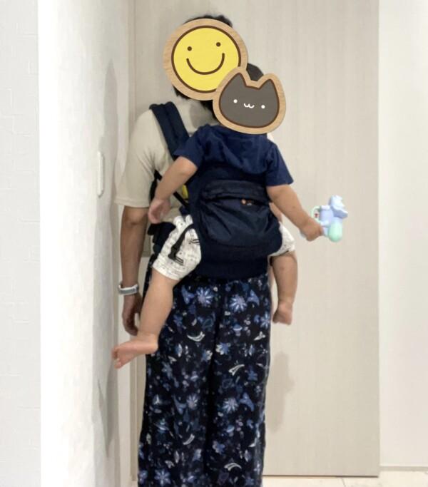 napnap BASIC メッシュドライ おんぶ 抱っこ紐 2歳 1歳半