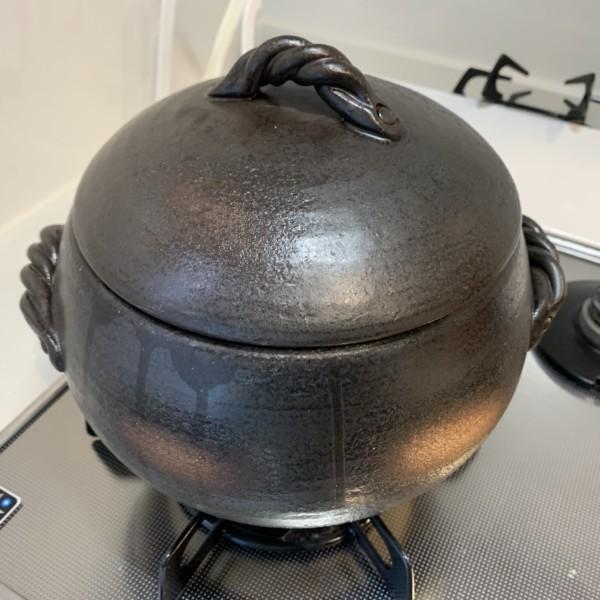 みすず ごはん鍋 土鍋 ご飯 白米 美鈴陶器