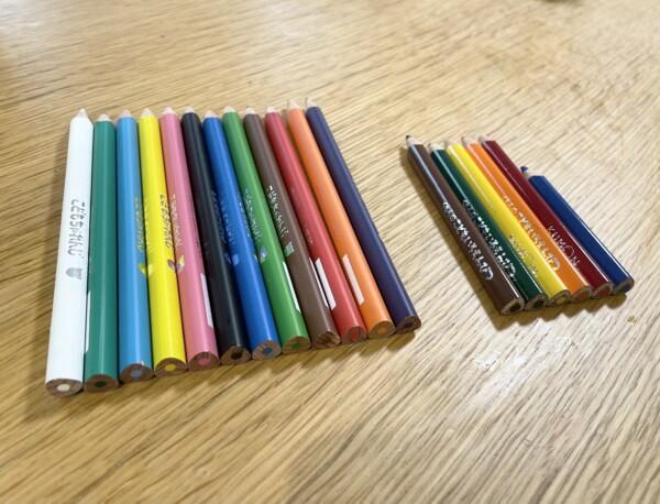 くもん ちゃれんじ しまじろう 色鉛筆 比較 シャープナー 鉛筆削り 持ち方サポーター もちかたサポーター